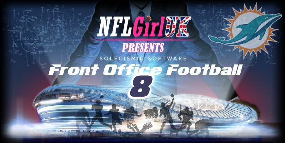 Front Office Football 8 Miami Dolphins Episode 1: Linebackers and Turnovers…