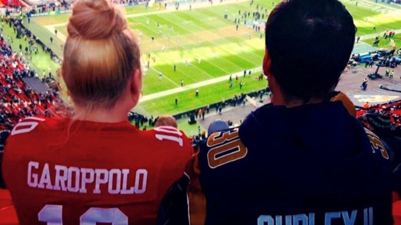 Celebrating female NFL fans in the UK: Introducing San Francisco 49ers fan, Mia.