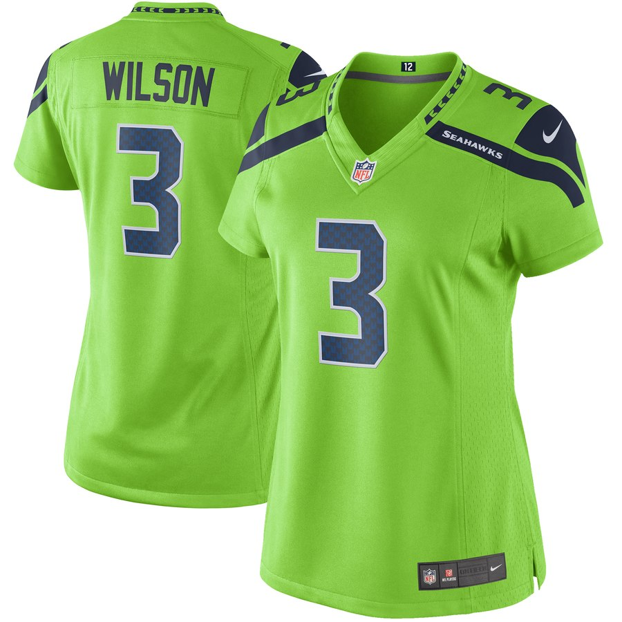 EXPIRED: Win this Women's Russell Wilson Seattle Seahawks Colour Rush Jersey