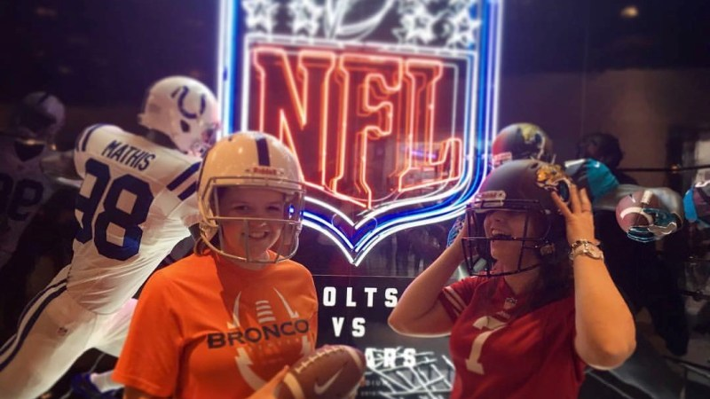 Celebrating female NFL fans in the UK: Introducing Denver Broncos fan, Abigail Boardman