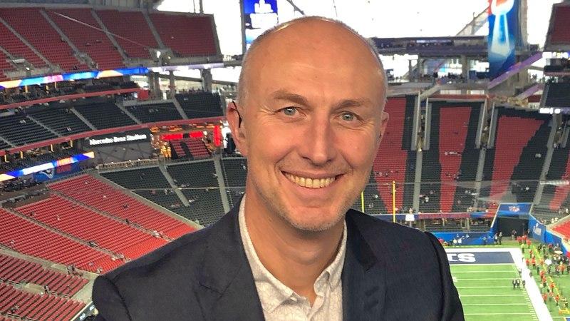 Neil Reynolds, presenter for NFL on Sky Sports