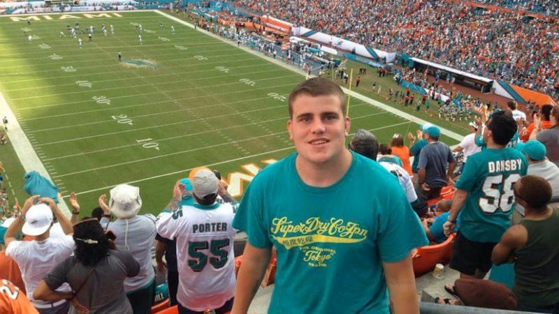 Celebrating NFL fans in the UK: Introducing Jack Humphrey