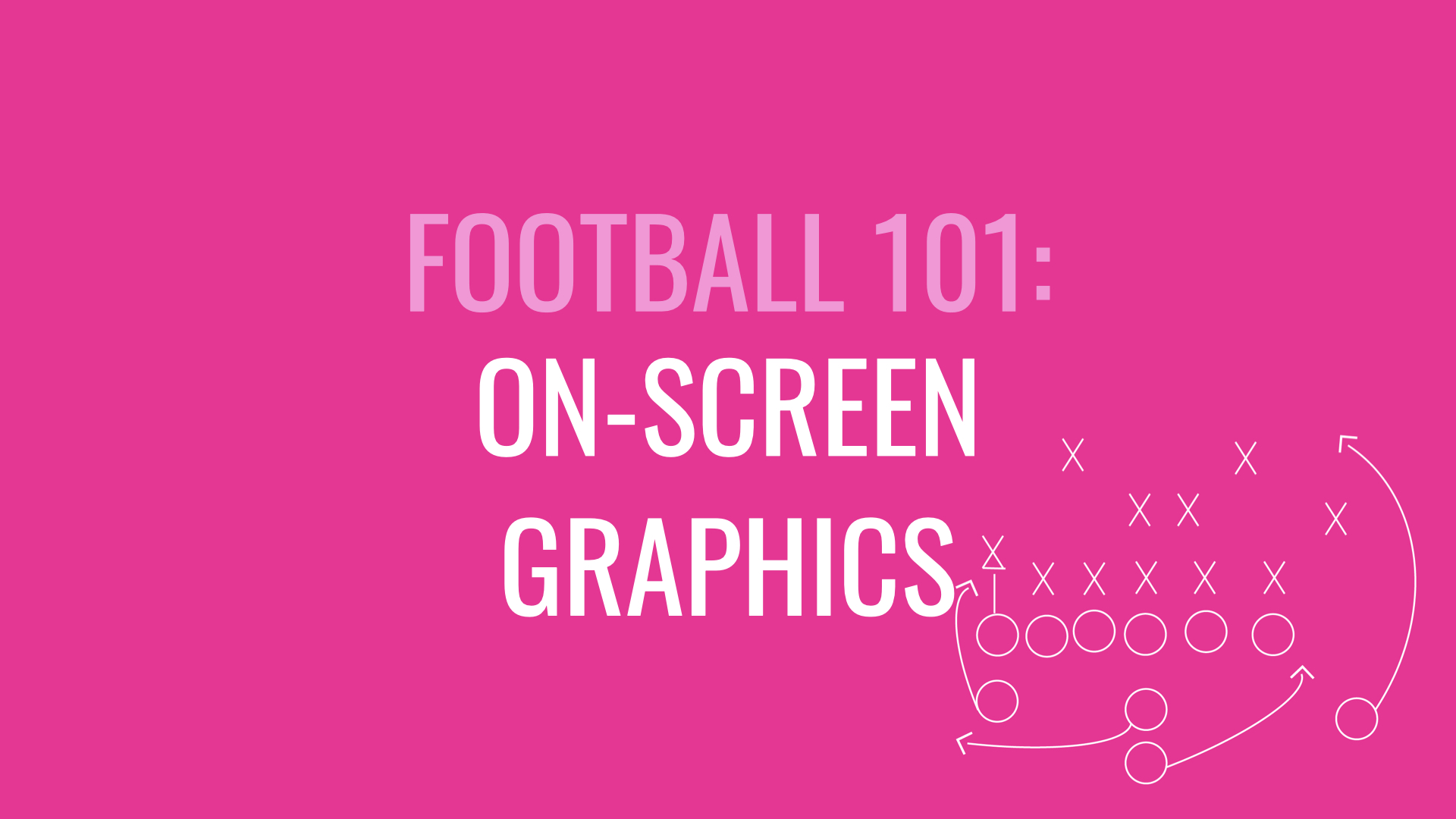 On-screen graphics