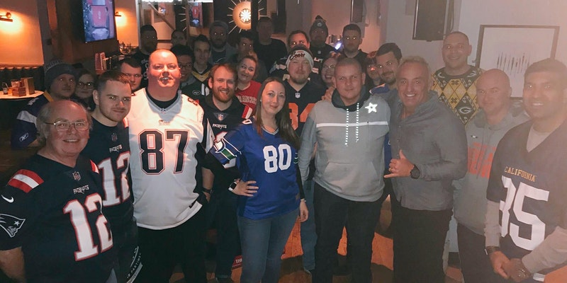 Join us at the #NFLUKFanMeetUp Christmas After Party on 18 December 2021