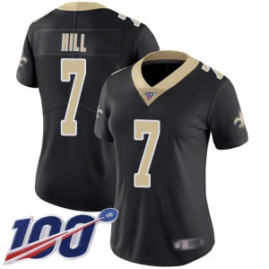 Nike Saints #7 Taysom Hill Black Team Color Women' cheap authentic Ben Gedeon jersey
