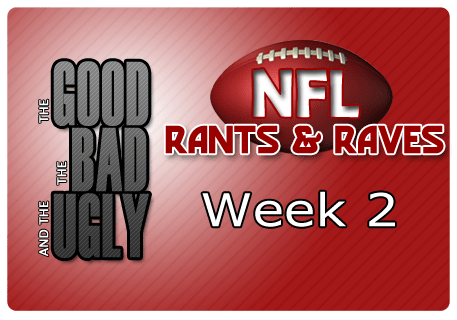 The Good, The Bad & The Ugly – Week 2