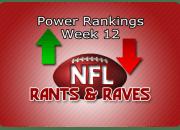 Power Rankings Week12