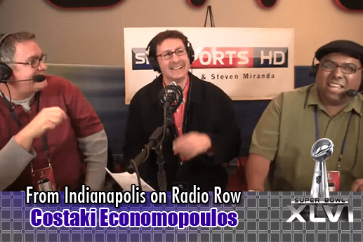 Interview with Costaki Economopoulos – Radio Row