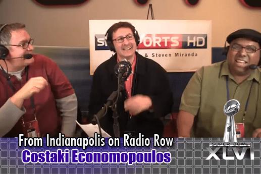 Interview with Costaki Economopoulos – Radio Row