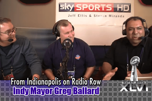 Interview with Indianapolis Mayor Greg Ballard – Radio Row