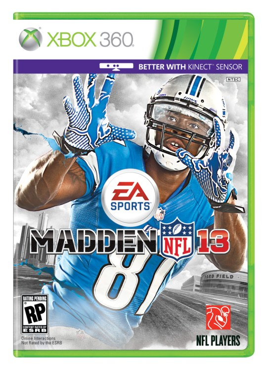 Calvin Johnson 2013 Madden Cover