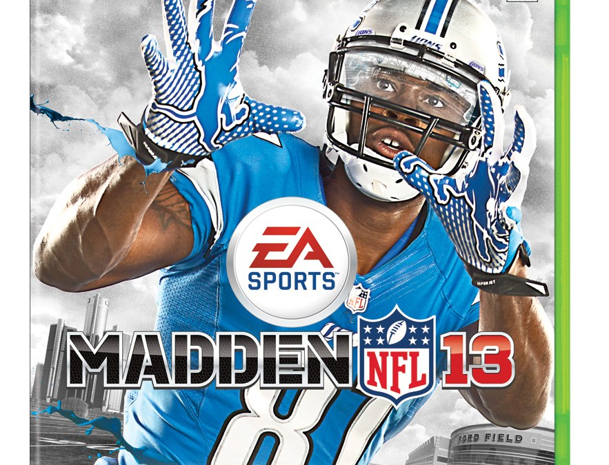 Madden 2013 Cover