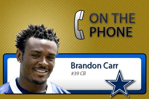 Inteview with Brandon Carr