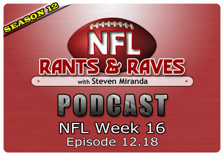 Episode 12.18 – NFL Week 16
