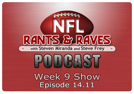 Episode 14.11 – Week 9 Show