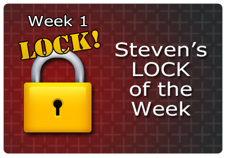 WK 1 – LOCK of the Week