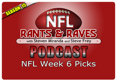 Week 6 Picks – No Show