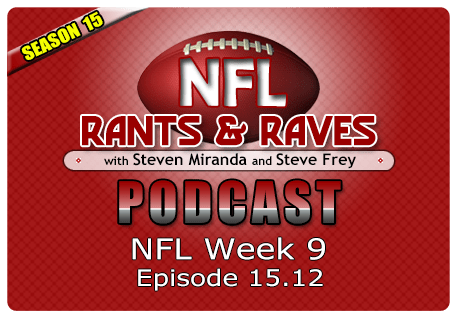 Episode 15.12 – Week 9 Show