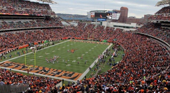 Cincinnati Bengals live stream football game stadium