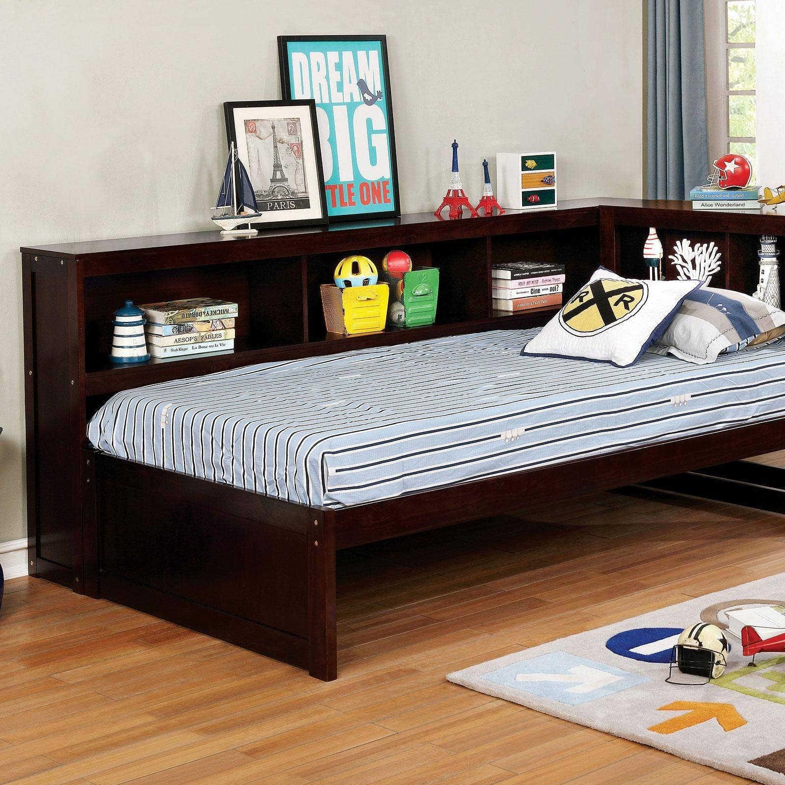 Furniture Of America Frankie Twin Daybed In Brown Wood