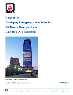 Vertical Office Diagram Template Nfpa High Rise Building Safety