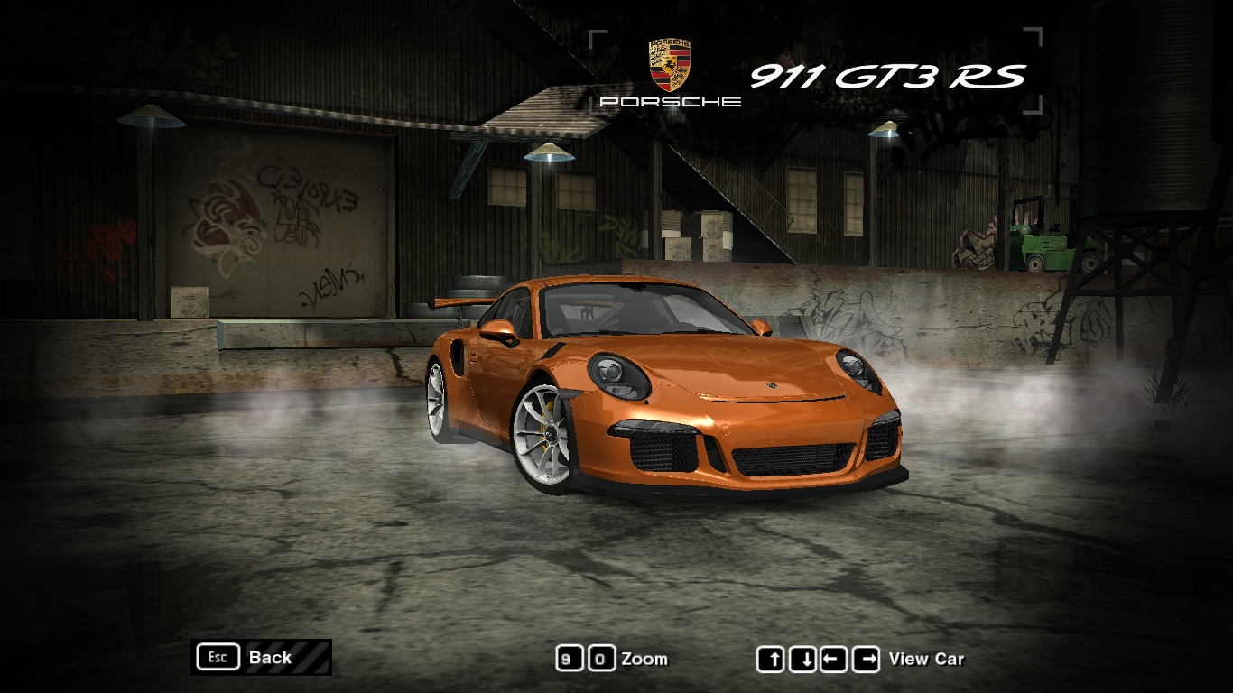 Need For Speed Most Wanted Porsche 911991 Gt3 Rs Nfscars