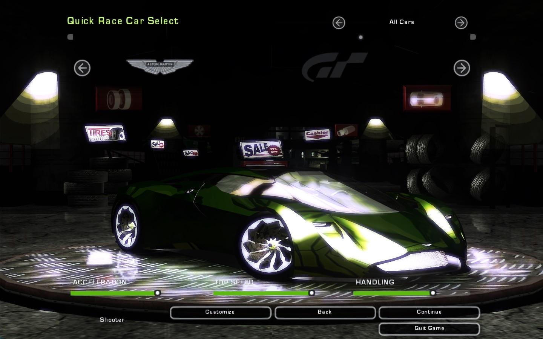 Need For Speed Underground 2 Aston Martin Dp 100 Vision Gran Turismo