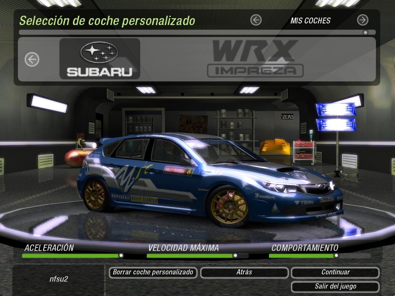 Fast And Furious 6 Cars Hd Wallpaper Need For Speed Underground 2 Subaru Impreza Wrx N14 Nfscars