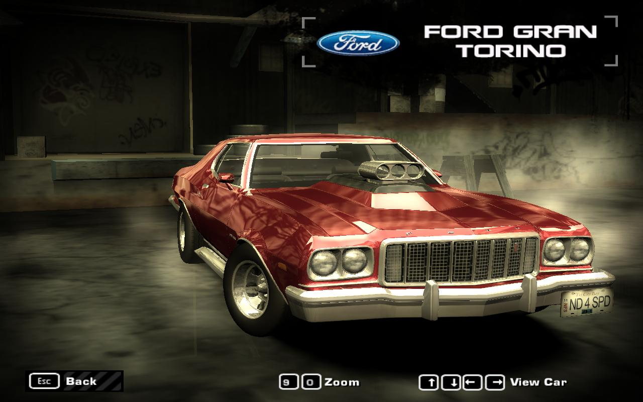 Need For Speed Most Wanted Ford Gran Torino 1974  NFSCars