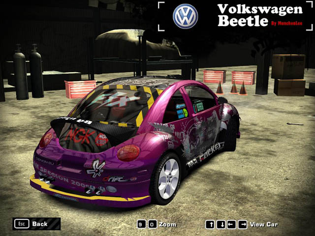 Need For Speed Most Wanted Volkswagen Beetle  NFSCars
