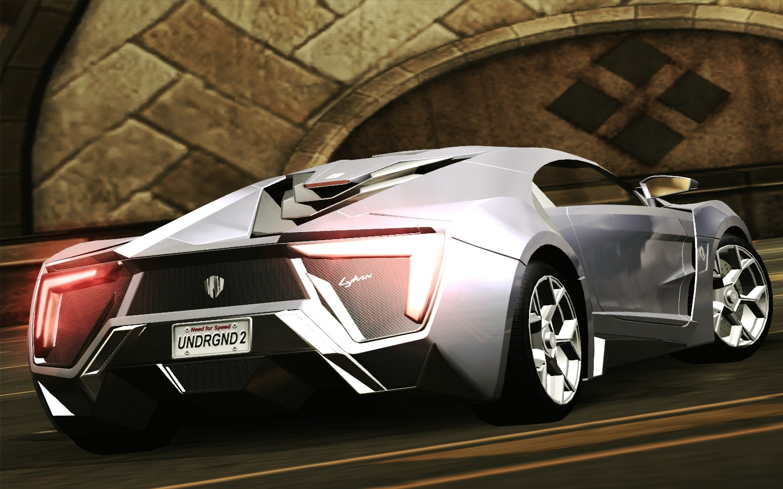 Need For Speed Underground 2 Various W Motors Lykan