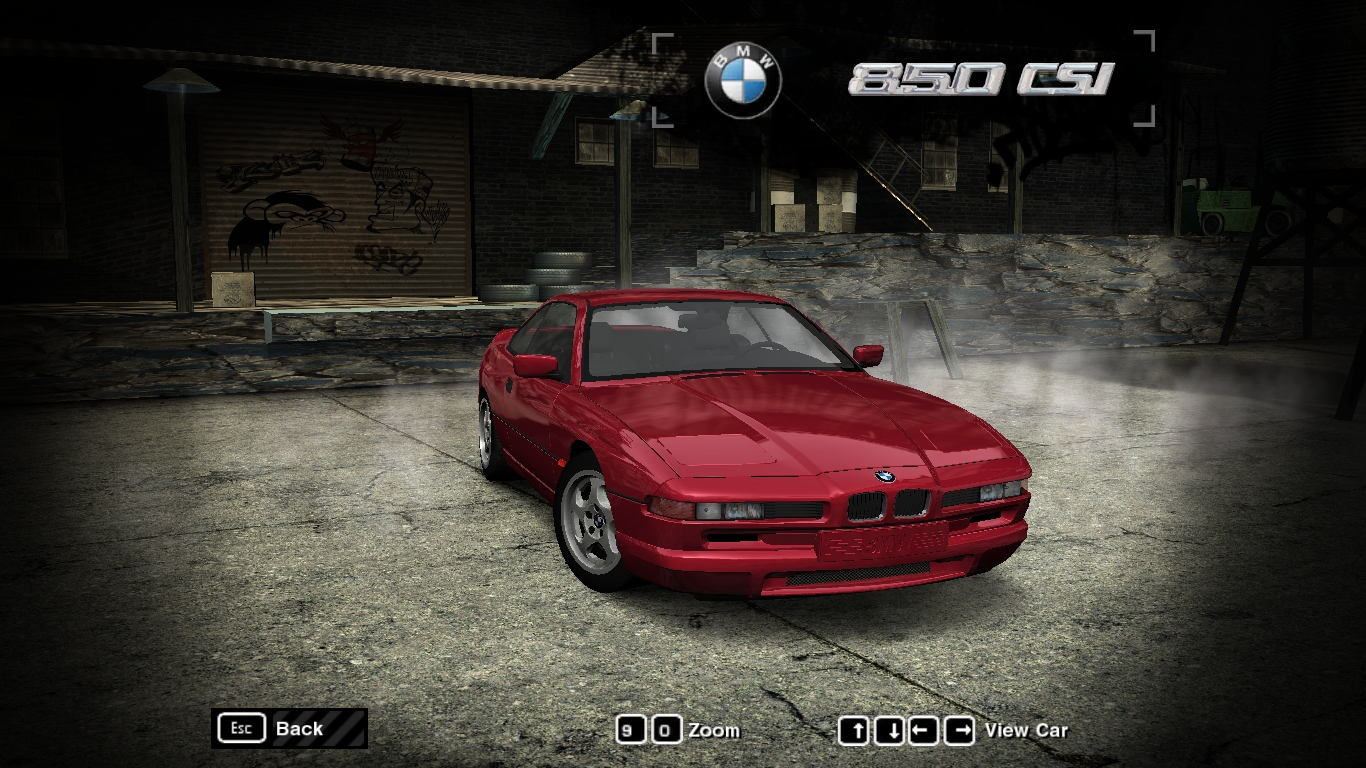 Cars Headlights Wallpaper Need For Speed Most Wanted Bmw 850csi Nfscars