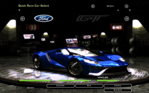 Need For Speed Underground 2 Various GMP   NFSCars
