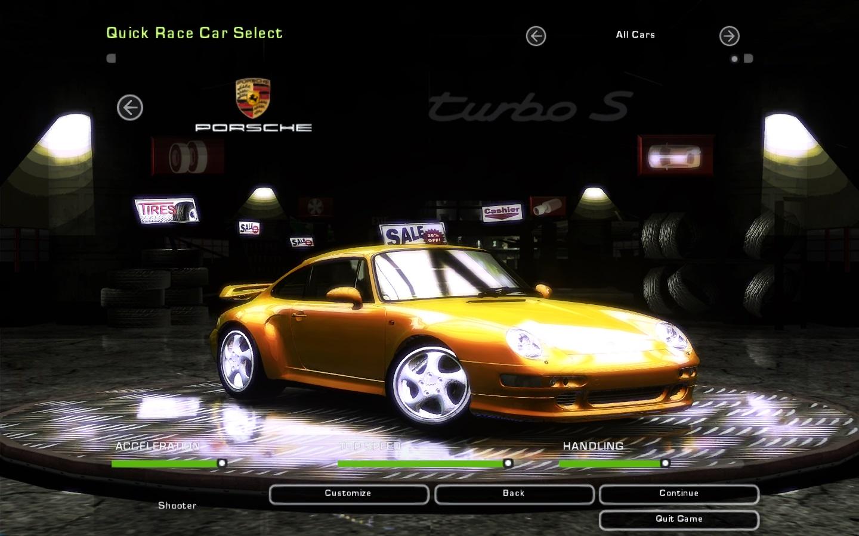 Need For Speed Underground 2 Porsche 911 993 Turbo S