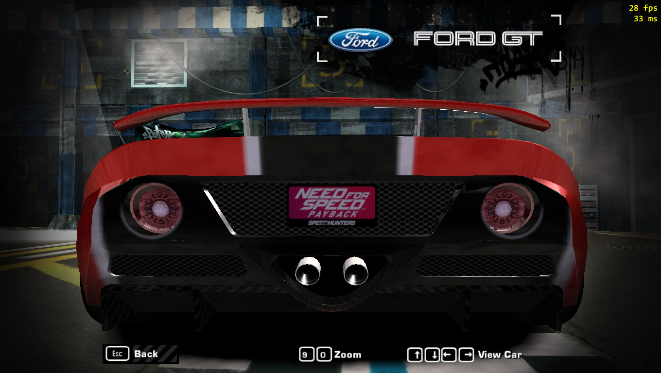 Need For Speed Most Wanted Nfs Payback License Plate