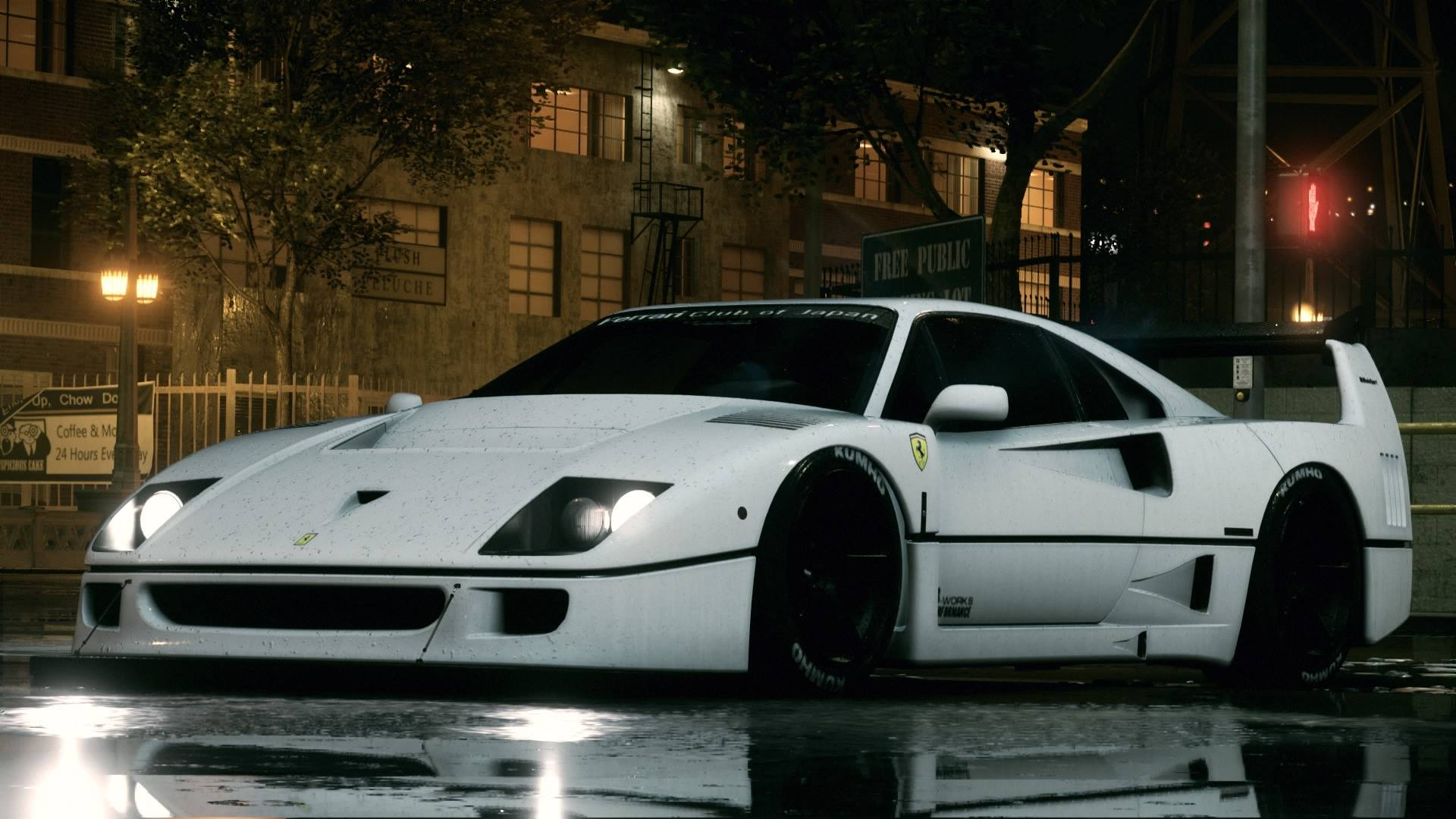 Ferrari F40 Liberty Walk by Chase_UC  Need for Speed 2015
