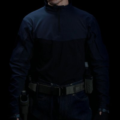 NFSTRIKE TRN Quick-Dry Tactical Training Shirt - (Police Blue)
