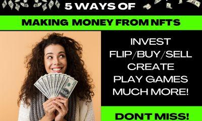 make money from NFT's