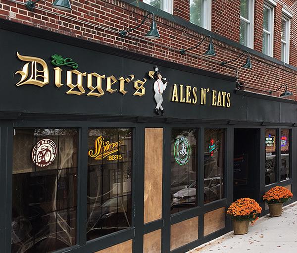 Digger's Ales n' Eats