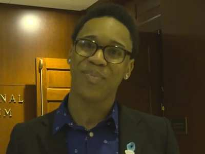 Johnoi Shaw with a Message to Ellen DeGeneres about Foster Youth Shadow Day
