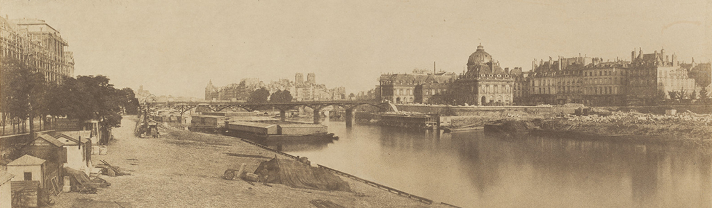 The River Seine by Charles Marville