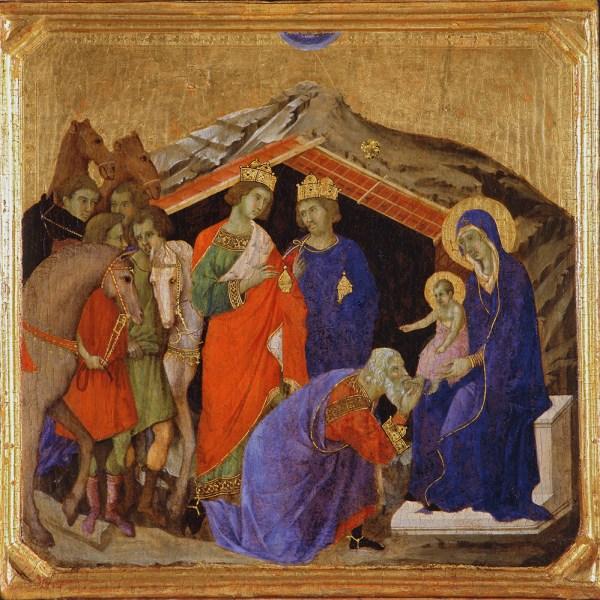 Fine Art Christmas Nativity