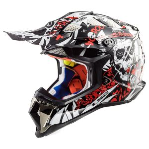 LS2 MX470 SUBVERTER VOODOO BLACK RED