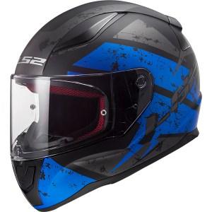 LS2 FF353 Rapid Deadbolt Blue