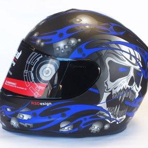 Evo Skull Blue