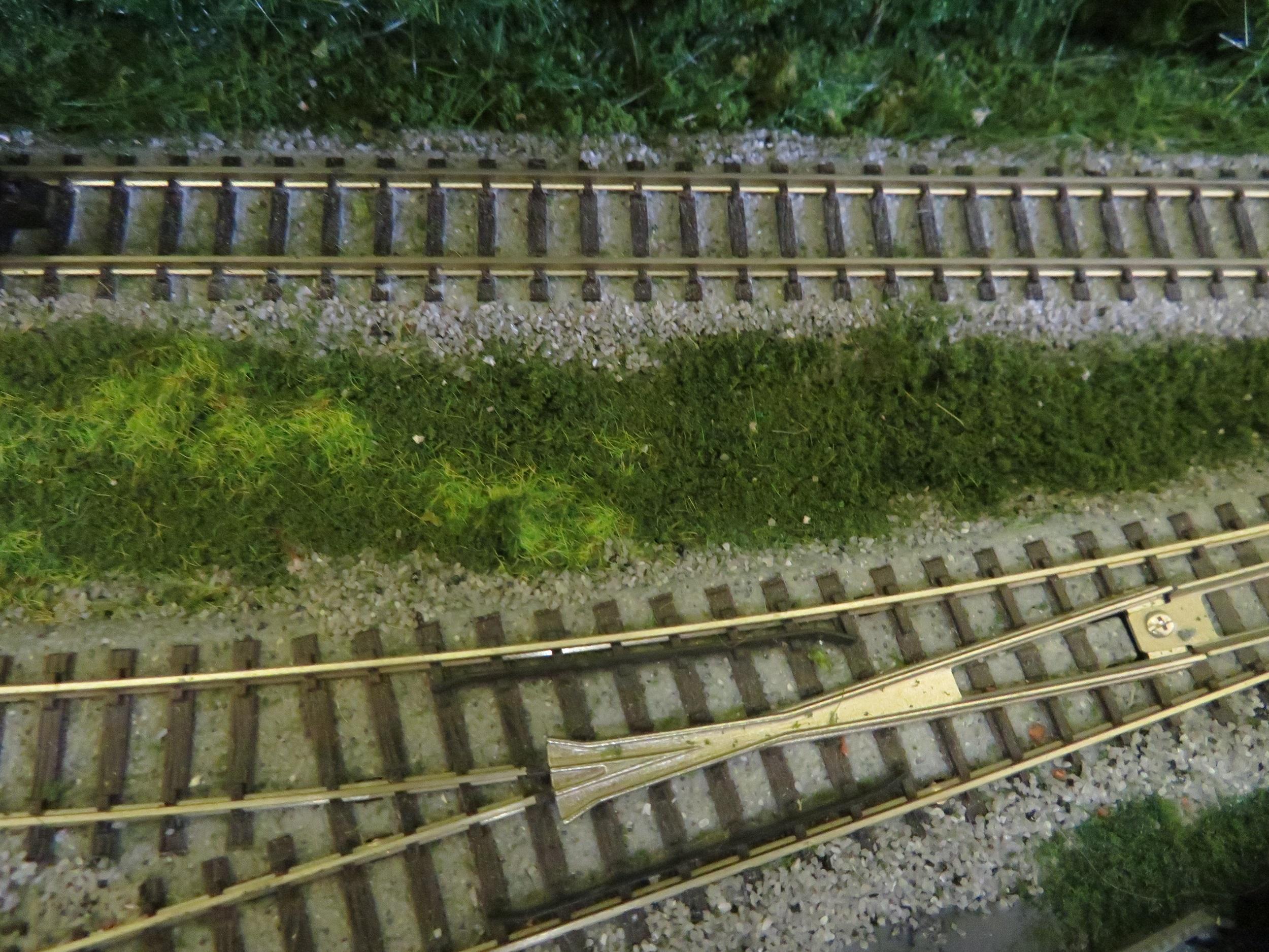 Kato track ballast