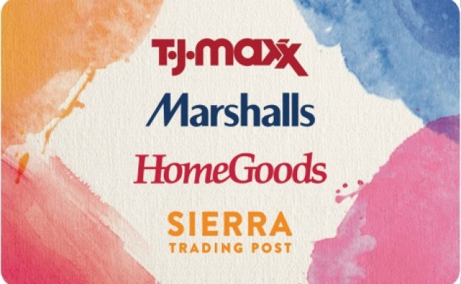T J Maxx Gift Cards National Gift Card