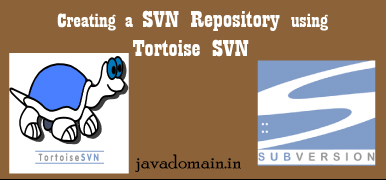 svn repository using tortoisesvn