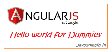 AngularJS Hello world for Dummies