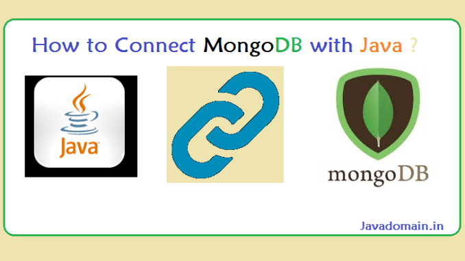 how to connect mongodb with java ?